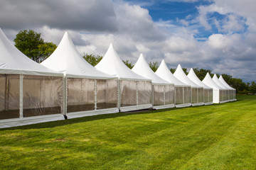 Mobile tent for trade show