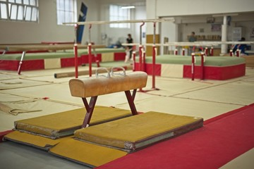 In de dag Gymnastiek Gymnastics Hall