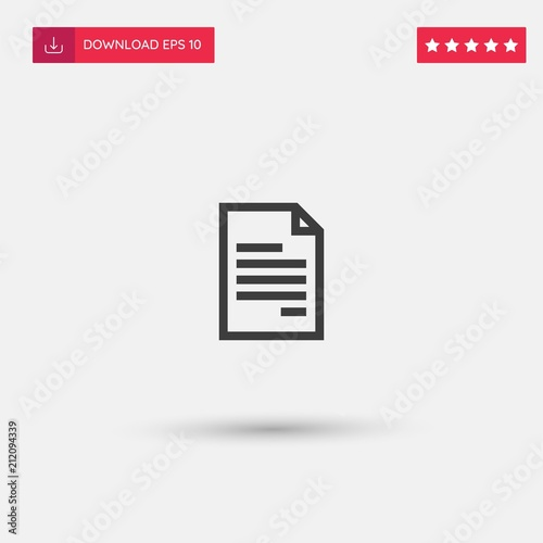 Outline Contract Icon Isolated On Grey Background Modern Simple