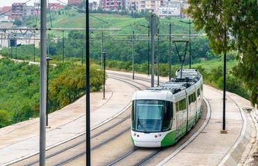 Printed roller blinds Algeria City tram in Constantine, Algeria
