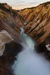 Foto op Canvas Canyon Grand Canyon of Yellowstone National Park, USA