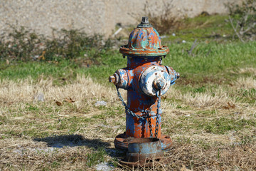 Fire Hydrant in the City