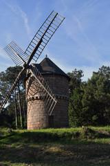 Fond de hotte en verre imprimé Moulins moulin du Crac'h