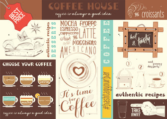 Coffe House placemat