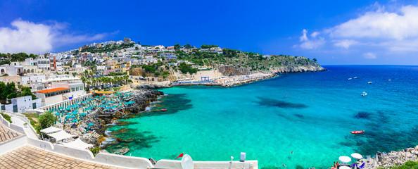Castro - beautiful coastal town in Salento, Puglia. italy.  Italian summer holidays