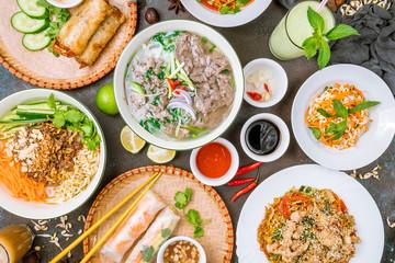 Fototapeta Soup Pho Bo obraz