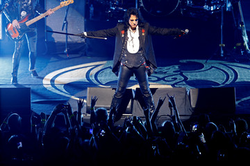 Alice Cooper performs with 'Hollywood Vampires' during the 52nd Montreux Jazz Festival in Montreux