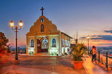 Fotorolgordijn Zuid-Amerika land Guayaquil, Ecuador