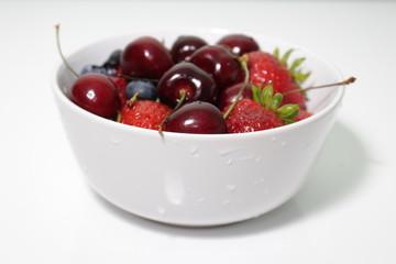 Blueberries, Cherries, Strawberries 2