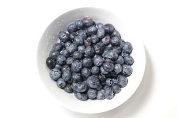A Bowl of Blueberries