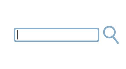 flat search button - fototapety na wymiar