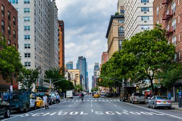 6th Avenue in Greenwich Village, Manhattan, New York City.