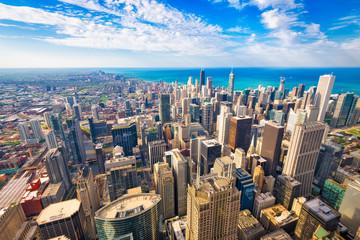 Chicago, Illinois, USA Skyline at Dusk