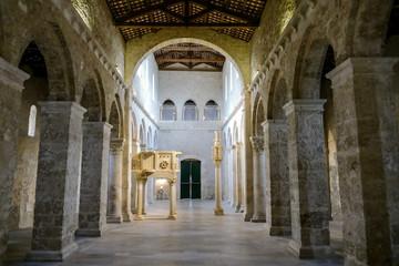 San Clemente abbey church ruins Abruzzo region Italy