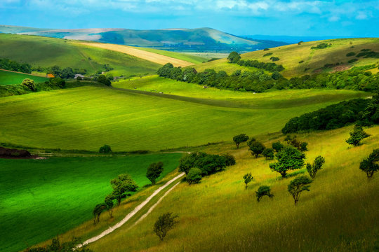 Beautiful Rolling Sussex countryside