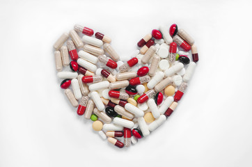 Medication capsules and pills
