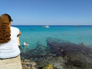 Mallorca, Cala Ratjada, Meer TV