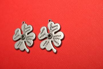 Symbol of luck four-leaf