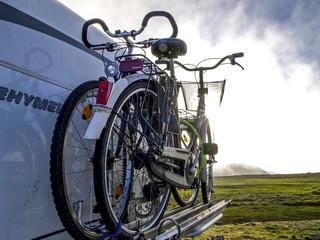 Fahrradträger, Norwegen, Finnmark