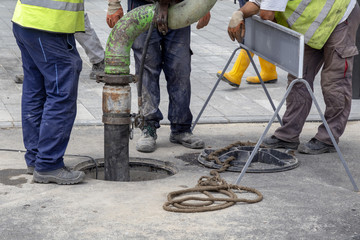 Sewer Lines Cleaning Service