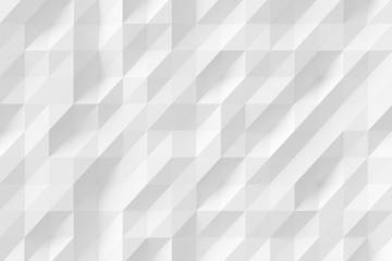 Abstract white modern background of polygons