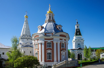 SERGIYEV POSAD, RUSSIA - May, 2018: Trinity Sergius Lavra in Sergiev Posad