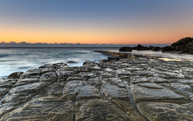 Tessellated Rock Platform and Seascape