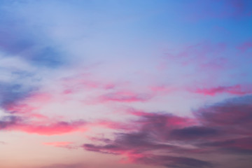 bright colors of the evening sky / nature is always pleased with something that is not repeatable