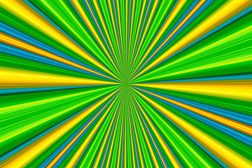 Colorful starburst