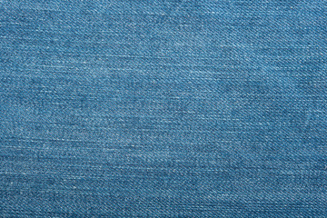 Blue denim jean texture and seamless background.