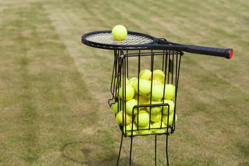 Tennis Ballkorb