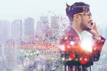 Surreal Image - Communication Technology Concept