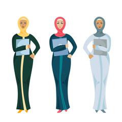 Muslim business woman.