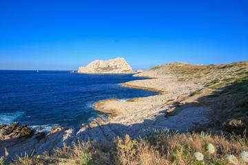 Île Maïre, Marseille, mer