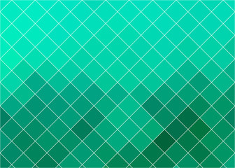 mosaic background with emerald-green plitochek