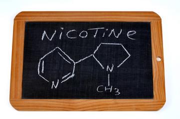 Formule chimique de la nicotine
