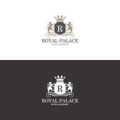 Royal Palace Logo in vector