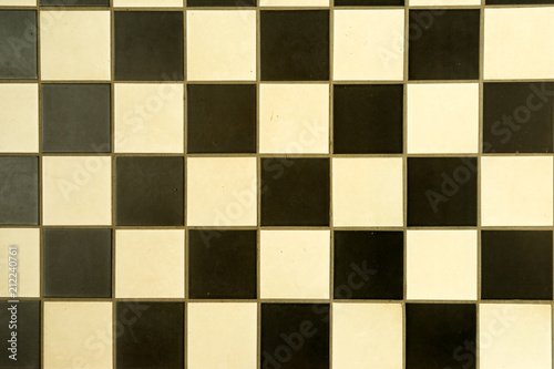 Textur Alte Bodenfliesen S W Stock Photo And Royalty Free Images