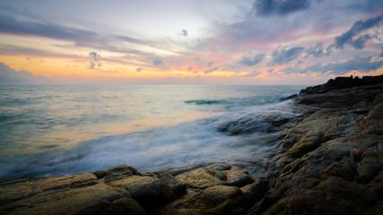 sunrise in Samui island, Thailand