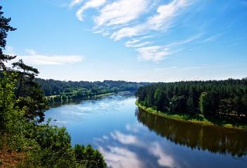 Nemunas river, Birstonas, Lithuania
