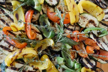 Colourful salad to love