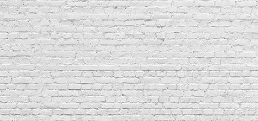 White brick wall urban Background in high resolution