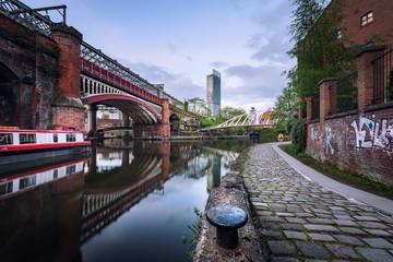Foto op Canvas Kanaal Manchester canals