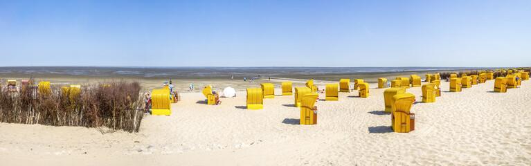 Printed kitchen splashbacks North Sea Cuxhaven, Duhnen, Döse, Strand