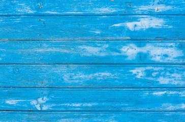 Alte rustikale Bretter Farbe Blau Holz Textur Hintergrund