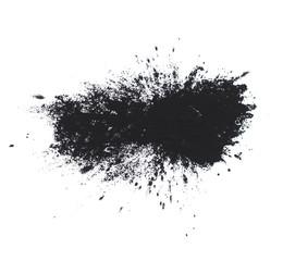 Black powder isolated.