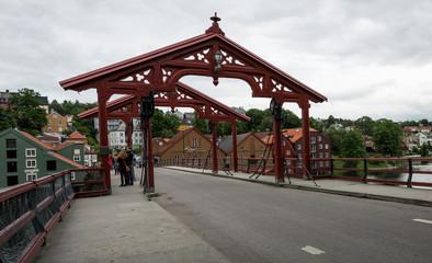 Urban landscape in Norway,Trondheim