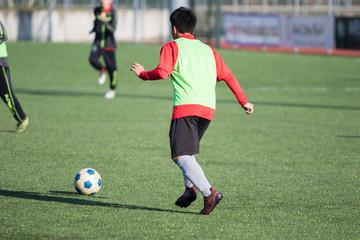 Calcio, azione di gioco