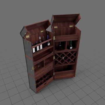 Wardrobe trunk bar