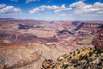 Grand Canyon landscape at Desert View Point